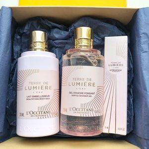 Loccitane En Provence Terre De Lumiere Gift Set